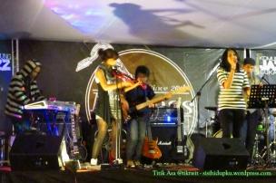 Grup band Baracuda.