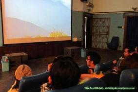 Didalam area theatre.